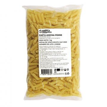 Pasta Andina Penne 1 kg